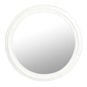 Miroir rond salle de bain achat vente miroir rond for Miroir blanc rond