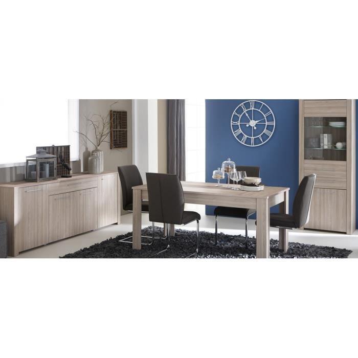 Salle a manger complete sans chaises achat vente salle for Meuble salle À manger avec achat chaises salle À manger