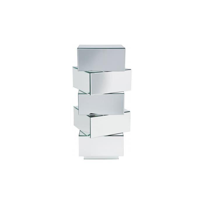 colonne miroir tiroirs achat vente commode. Black Bedroom Furniture Sets. Home Design Ideas