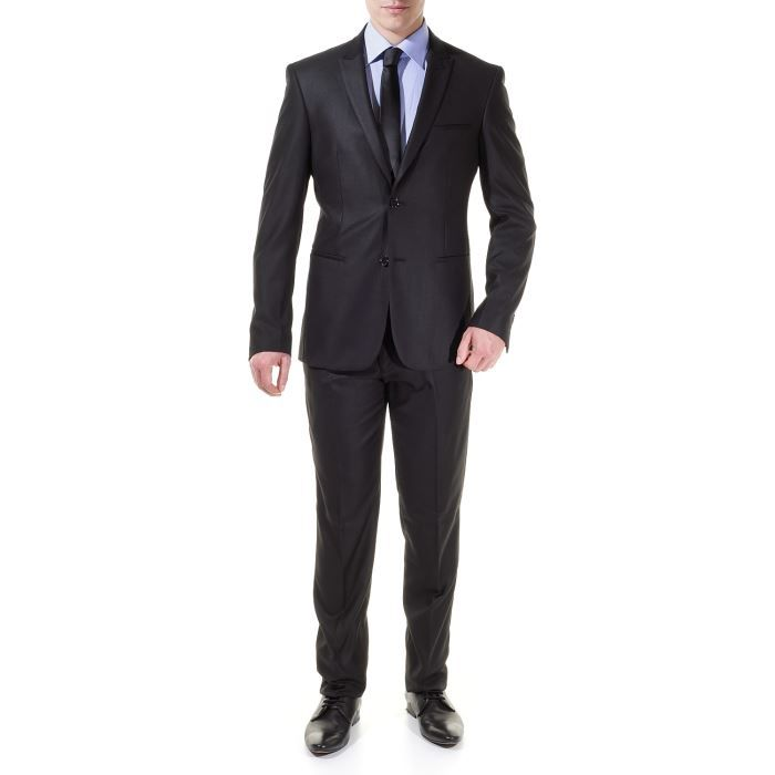 costume jean louis scherrer s946 noir achat vente. Black Bedroom Furniture Sets. Home Design Ideas
