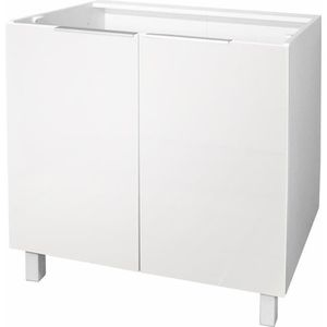 meuble blanc de rangement hauteur 80 cm achat vente meuble blanc de rangement hauteur 80 cm. Black Bedroom Furniture Sets. Home Design Ideas