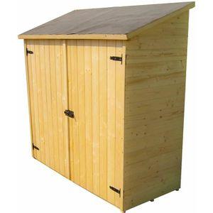 Abri velo bois achat vente abri velo bois pas cher for Grand abri de jardin en bois