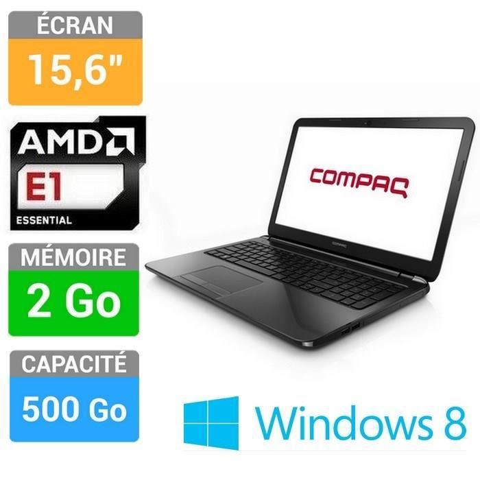 ORDINATEUR PORTABLE Compaq 15-h003sf