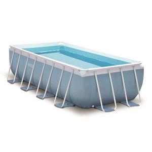 Piscine intex silver ultra achat vente piscine intex for Piscine rectangulaire tubulaire pas cher