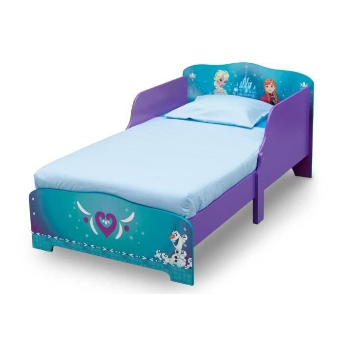 la reine des neiges lit enfant en bois 70 x 140cm achat. Black Bedroom Furniture Sets. Home Design Ideas