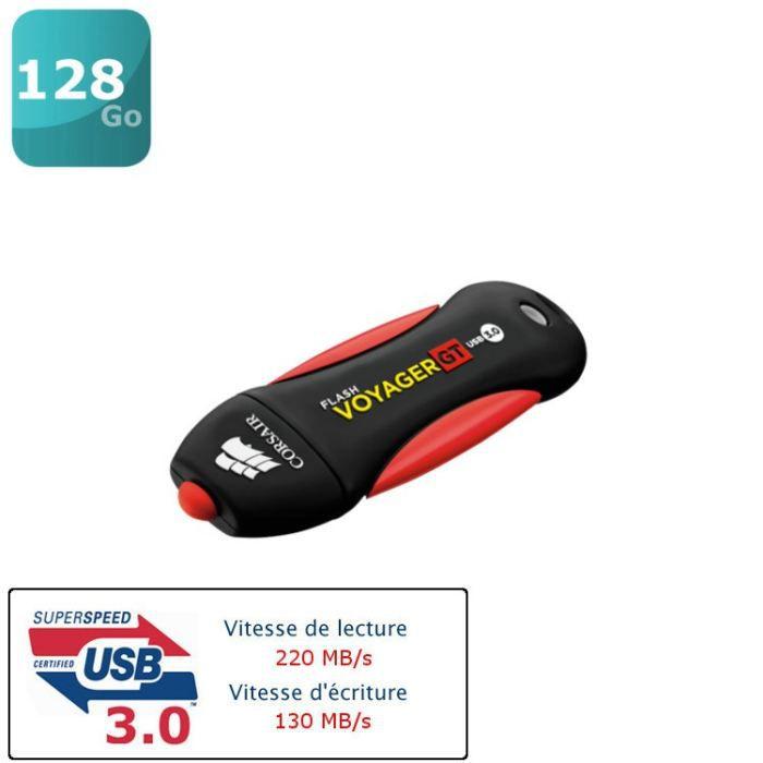 Corsair Flash Voyager GT 128 Go   Achat / Vente CLE USB Corsair Flash