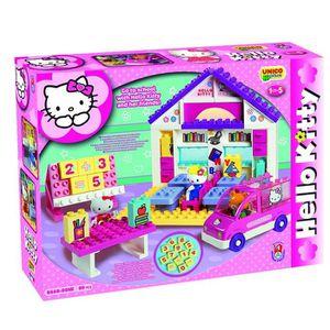 ASSEMBLAGE CONSTRUCTION L'Ecole De Hello Kitty - 89Pcs