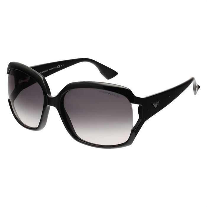 emporio armani lunettes soleil noir achat vente lunettes de soleil femme cdiscount. Black Bedroom Furniture Sets. Home Design Ideas