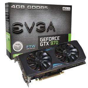 EVGA GTX970 4Go DDR5