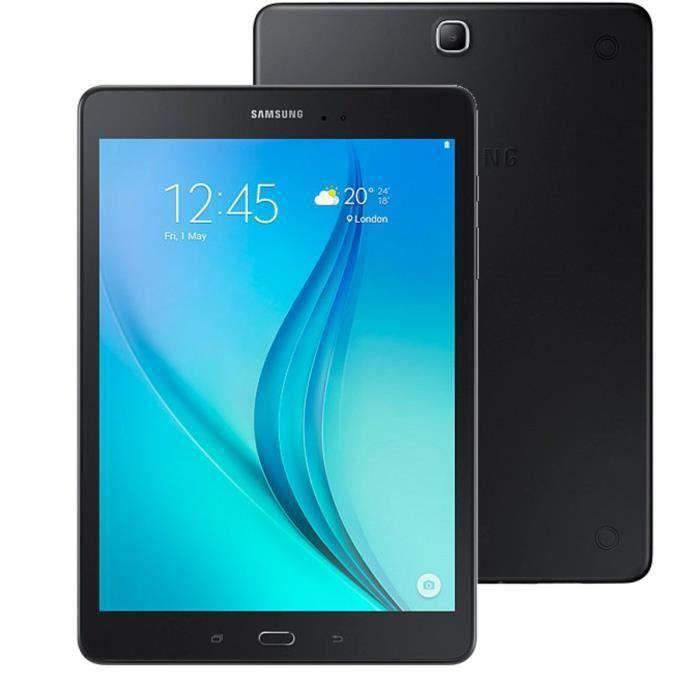 Destockage samsung galaxy tab a 9 7 16 go wifi noir - Tablette samsung au meilleur prix ...