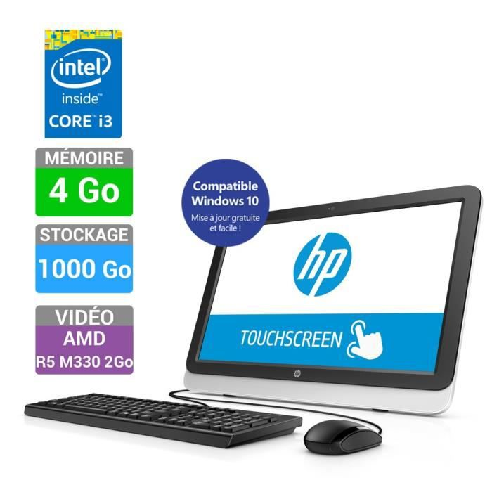 Hp all in one 22 3008nf achat vente unit 233 centrale hp all in one