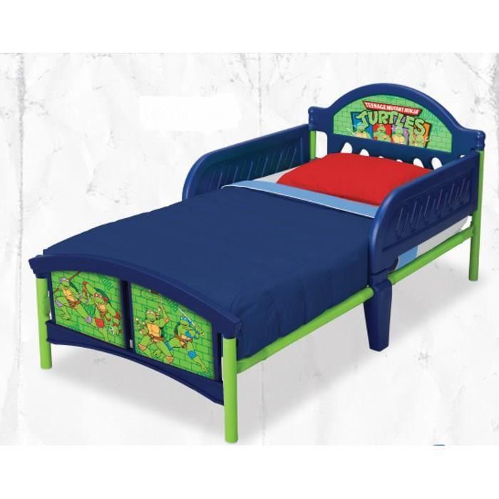 Tortues ninja lit enfant 140 70 cm achat vente structure de lit cdisc - C discount lit enfant ...