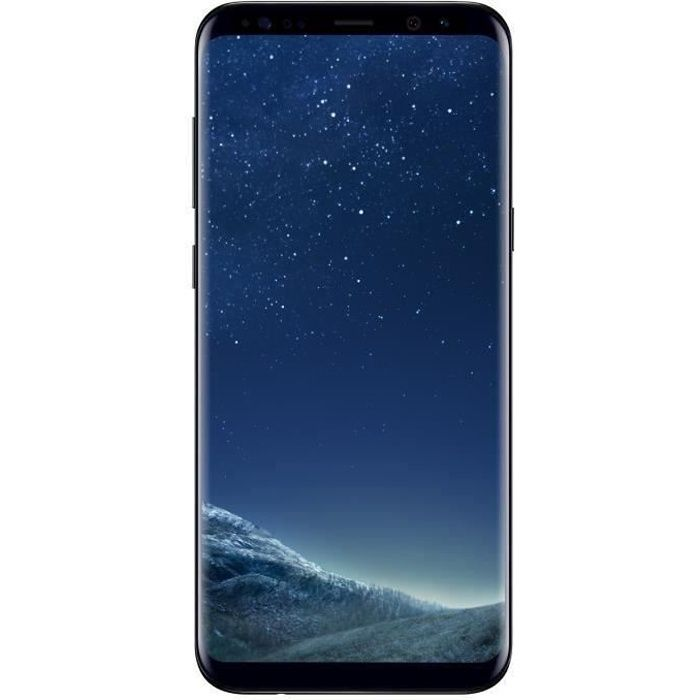 samsung galaxy s8 noir carbone achat smartphone pas. Black Bedroom Furniture Sets. Home Design Ideas