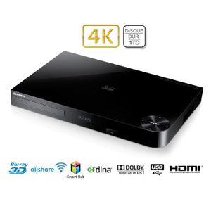 SAMSUNG BD-H8900 Lecteur Blu-Ray 3D - Enregistreur Disque dur 1 TO