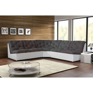 canap modulable achat vente canap modulable pas cher cdiscount. Black Bedroom Furniture Sets. Home Design Ideas