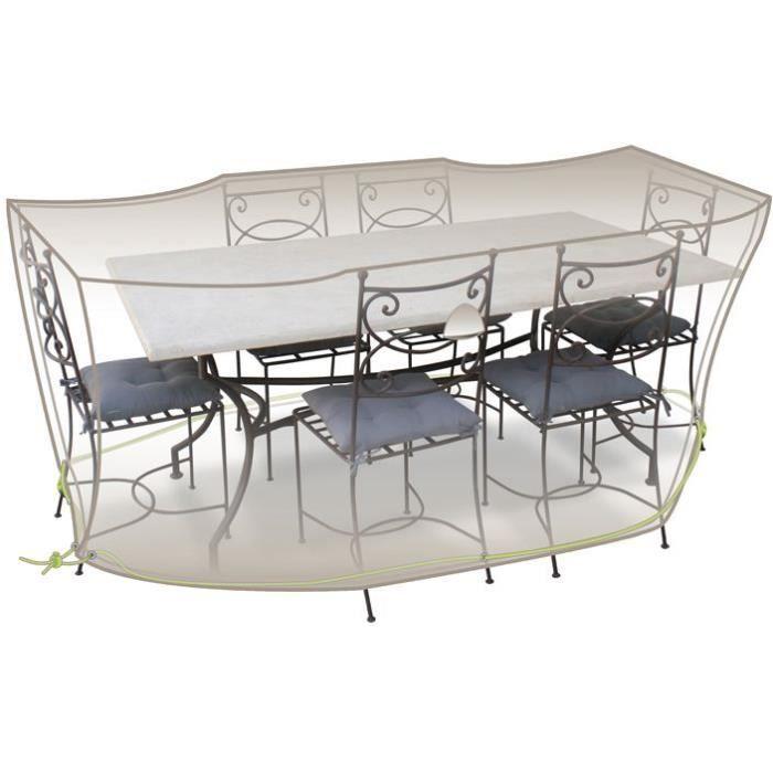 Housse de protection pour salon de jardin 240 x 130 x 70 cm luxe achat vente housse meuble Salon de jardin luxe vendome