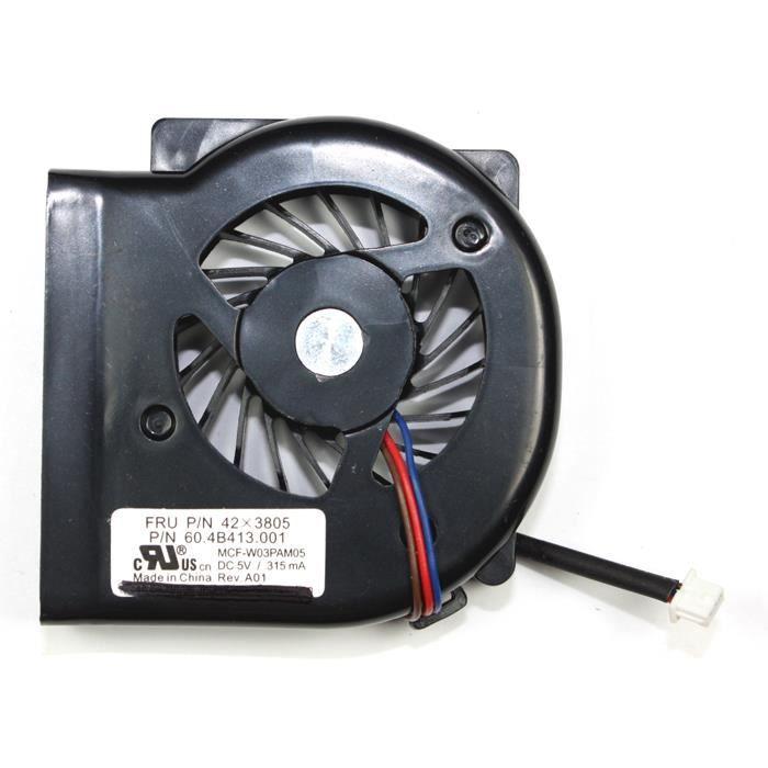 ibm thinkpad x61 tablet ventilateur pour ordinateurs portables prix pas cher cdiscount. Black Bedroom Furniture Sets. Home Design Ideas