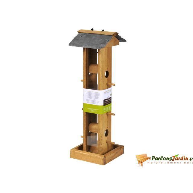 mangeoire pour oiseaux en bois lorius achat vente mangeoire tr mie mangeoire pour oiseaux. Black Bedroom Furniture Sets. Home Design Ideas