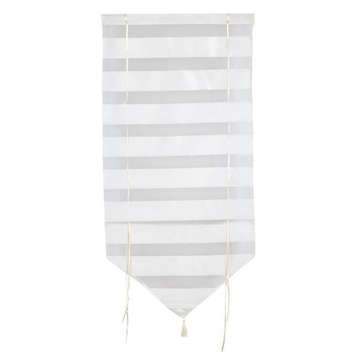 Store pare soleil 60x90 cm blanc achat vente store de for Fenetre 60x90