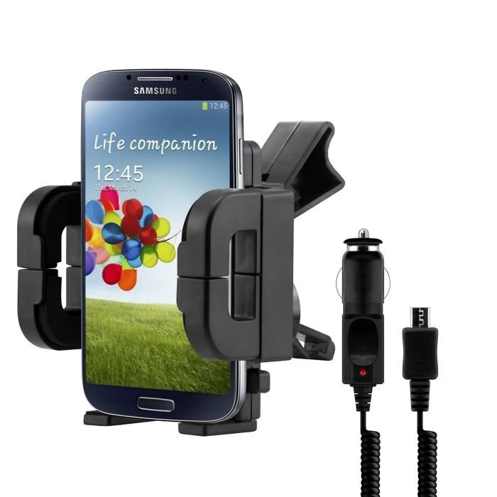 kit support auto chargeur samsung galaxy s5 achat. Black Bedroom Furniture Sets. Home Design Ideas
