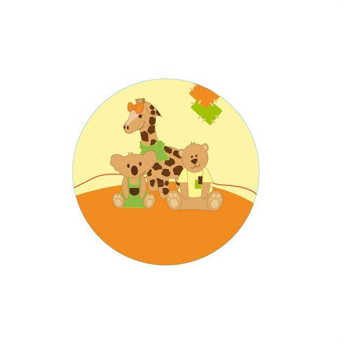 dodo d 39 amour tapis d 39 veil jungle beige et orange achat vente tapis veil aire b b. Black Bedroom Furniture Sets. Home Design Ideas