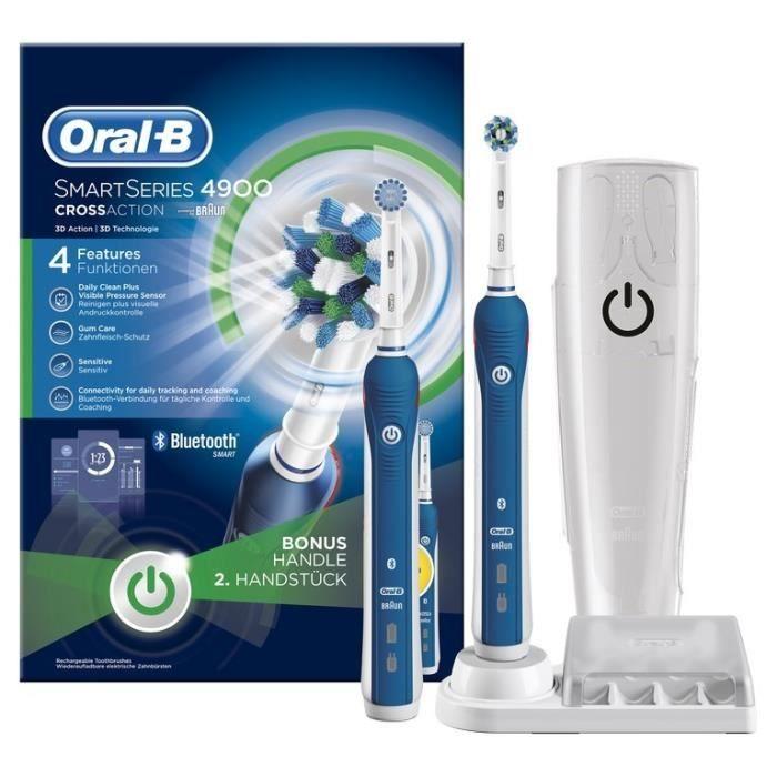 brosse dents lectrique oral b smart series 4900 par. Black Bedroom Furniture Sets. Home Design Ideas