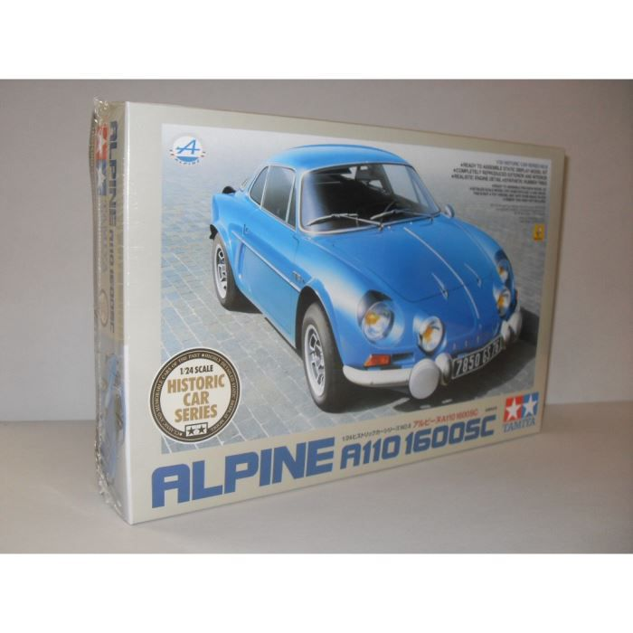 maquette monter renault alpine a110 1600sc achat vente voiture construire cdiscount. Black Bedroom Furniture Sets. Home Design Ideas