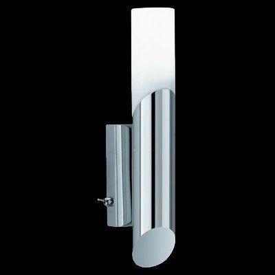 Trio leuchten 280470106 applique murale basse consommation for Applique salle de bain avec interrupteur