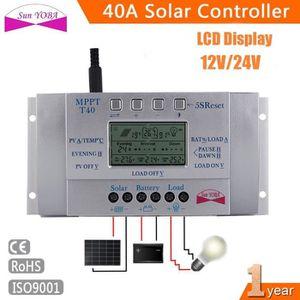 AUTOMATE PROGRAMMABLE cd 40a régulateur mppt panneau solaire contrôleur