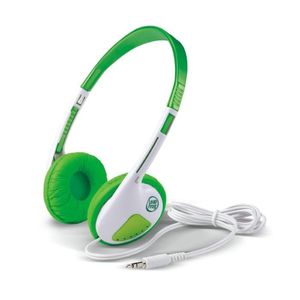 CASQUE AUDIO ENFANT LEAPFROG Casque audio vert LeapPad Explorer