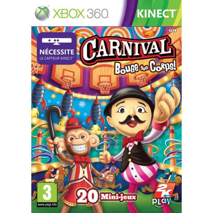 JEUX XBOX 360 CARNIVAL BOUGE TON CORPS / Jeu XBOX360