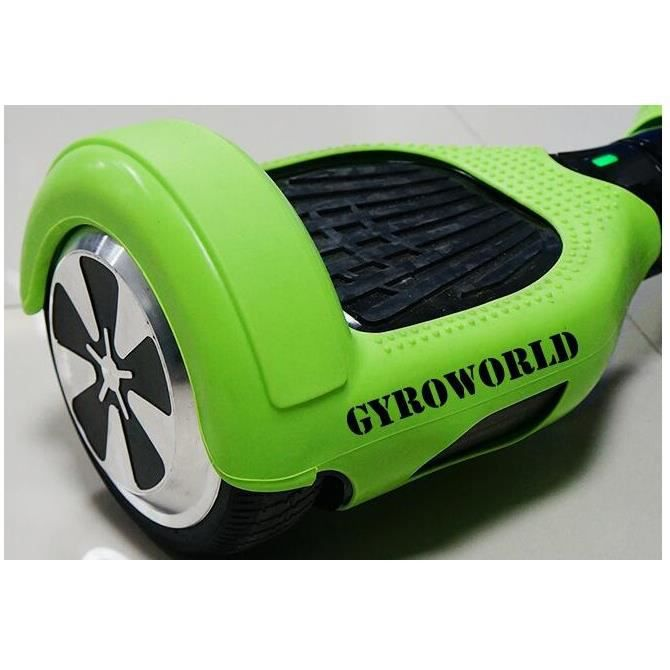 coque silicone vert pour hoverboard gyropode monorover. Black Bedroom Furniture Sets. Home Design Ideas