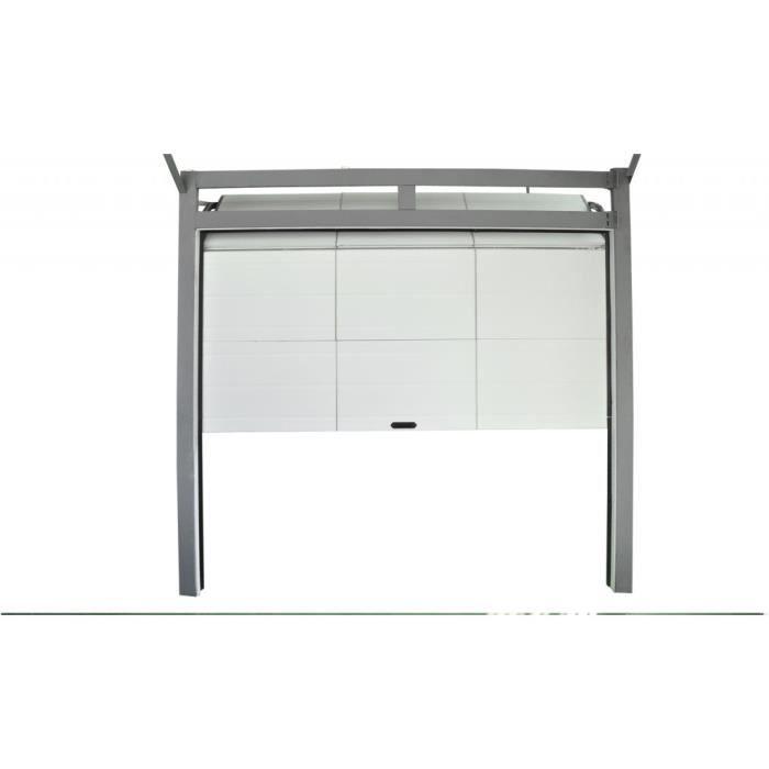 magnifique porte de garage sectionnelle 250 x 212 x 4cm achat vente porte de garage. Black Bedroom Furniture Sets. Home Design Ideas