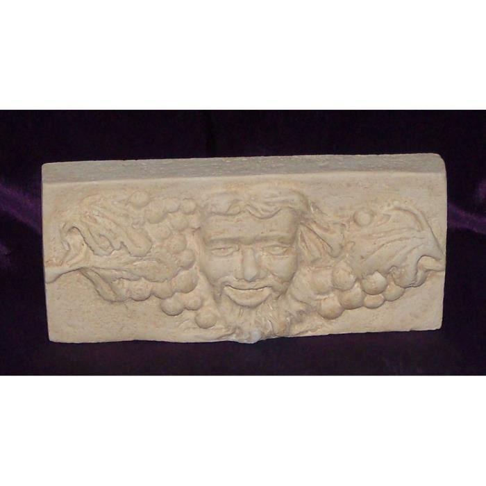 D coration murale pierre bacchus achat vente objet for Decoration murale objet