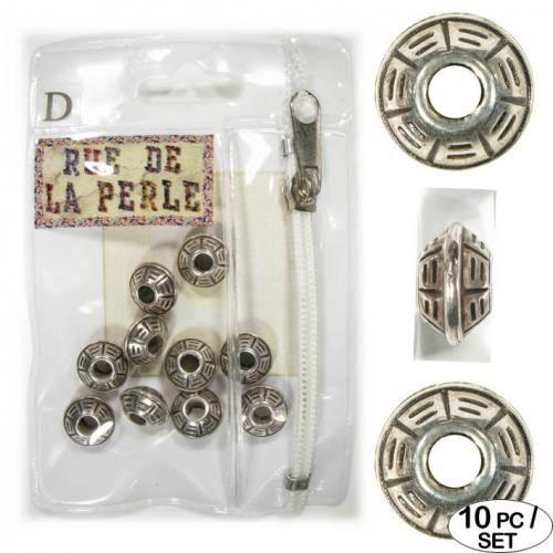 Perles en m talisees 10 pieces achat vente perles - Boutique loisirs creatifs paris ...
