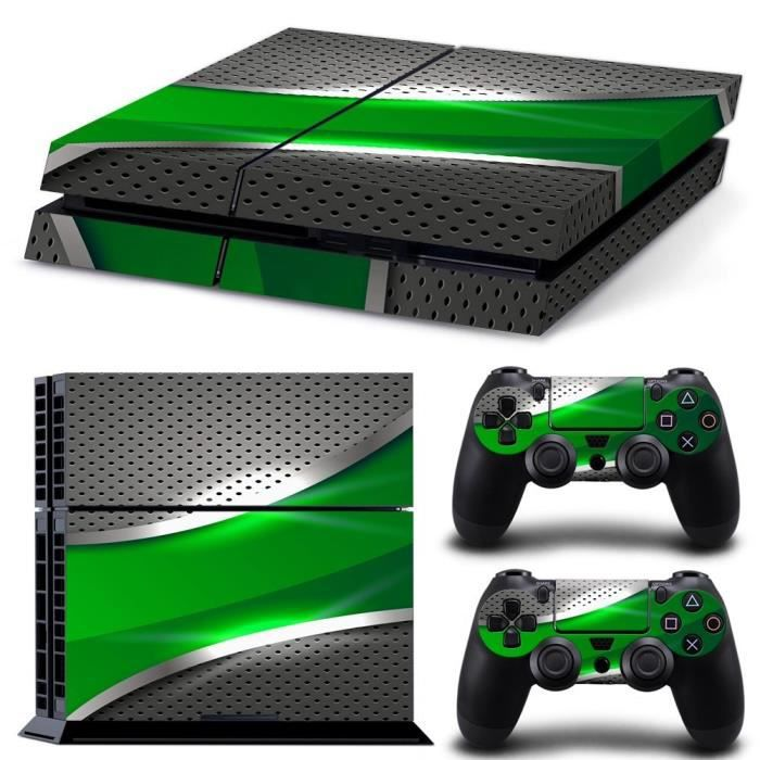 ps4 playstation 4 console decal vinyl autocollant skin. Black Bedroom Furniture Sets. Home Design Ideas
