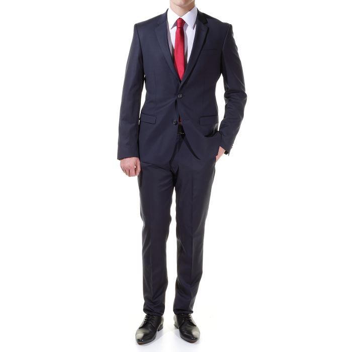costume jean louis scherrer sc41 bleu achat vente costume tailleur sc418 daniel marine. Black Bedroom Furniture Sets. Home Design Ideas