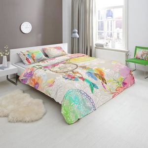 housse de couette 90x190 achat vente housse de couette 90x190 pas cher cdiscount. Black Bedroom Furniture Sets. Home Design Ideas