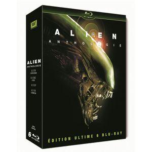 BLU-RAY FILM Blu-Ray Coffret alien quadrilogy : alien 1 ; al...