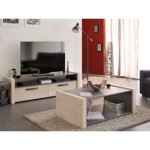 combinaison meuble tv achat vente combinaison meuble tv pas cher soldes cdiscount. Black Bedroom Furniture Sets. Home Design Ideas