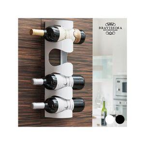 porte bouteille mural achat vente porte bouteille mural pas cher les soldes sur cdiscount. Black Bedroom Furniture Sets. Home Design Ideas