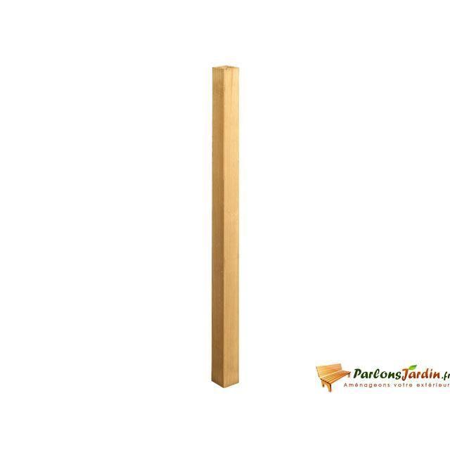 Balustre en bois carr pour balustrade achat vente rampe main courante - Balustrade escalier pas cher ...