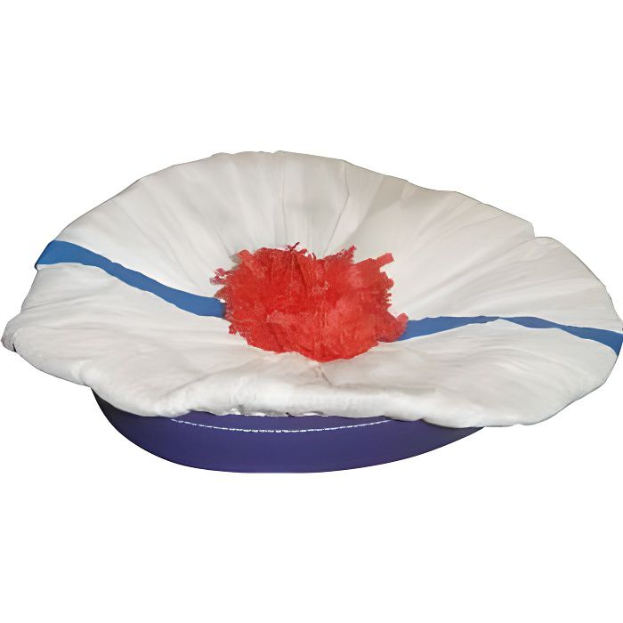 b ret marin blanc achat vente chapeau perruque cdiscount. Black Bedroom Furniture Sets. Home Design Ideas
