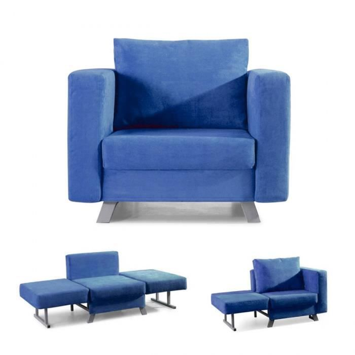 fauteuil convertible achat vente fauteuil convertible pas cher les soldes sur cdiscount. Black Bedroom Furniture Sets. Home Design Ideas