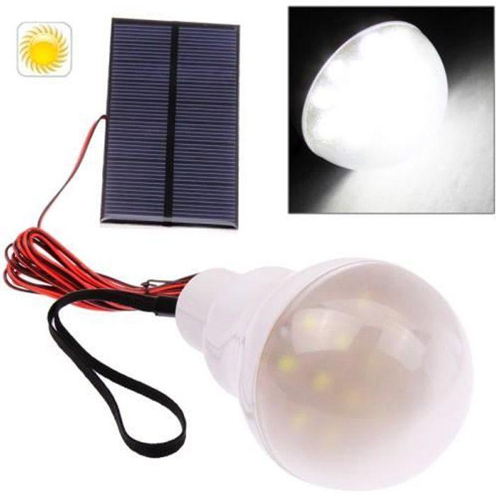 kit ampoule led avec panneau solaire achat vente kit ampoule led avec pannea soldes d t. Black Bedroom Furniture Sets. Home Design Ideas