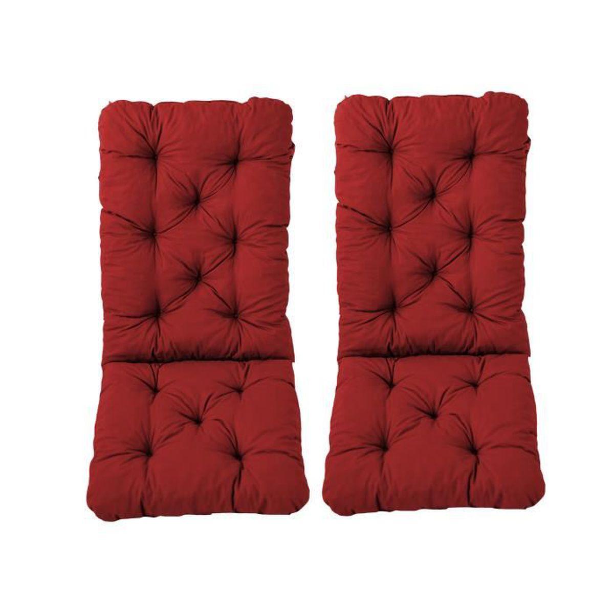 coussin avec dossier chaise haute jardin achat vente coussin avec dossier chaise haute. Black Bedroom Furniture Sets. Home Design Ideas