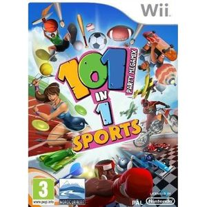 JEUX WII 101 IN 1 SPORTS PARTY MEGAMIX / Jeu Wii