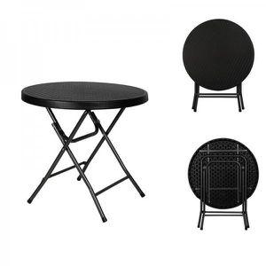 table ronde exterieur achat vente table ronde exterieur pas cher soldes cdiscount. Black Bedroom Furniture Sets. Home Design Ideas