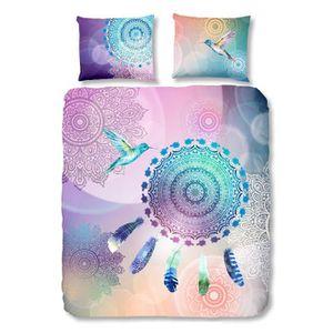 housse de couette violet achat vente housse de couette. Black Bedroom Furniture Sets. Home Design Ideas