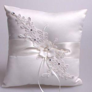 PORTE-ALLIANCE SHINA 21 * 21cm Belle Fleur Buds Faux Perles Decor